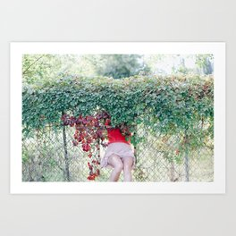 don't hide Art Print