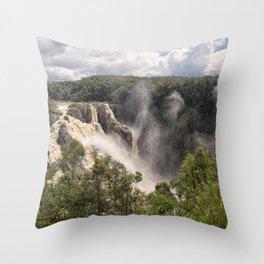 Barron Falls in Queensland Throw Pillow