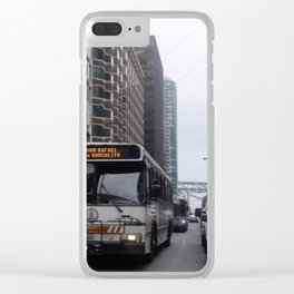 Bus Clear iPhone Case