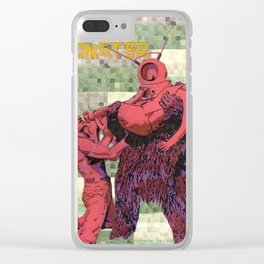 Robot Monster II Clear iPhone Case