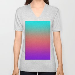 Sunset shades on the sea Unisex V-Neck