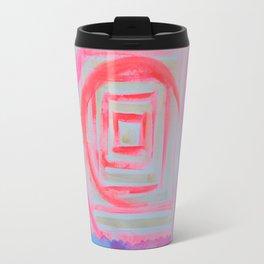 Blue Pink Travel Mug