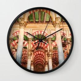 Mezquita de Cordoba - Spain Wall Clock