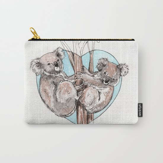koala love Carry-All Pouch