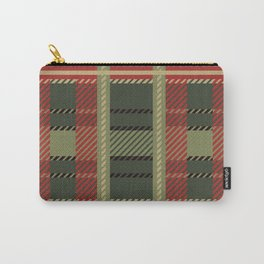 Holiday Plaid Carry-All Pouch