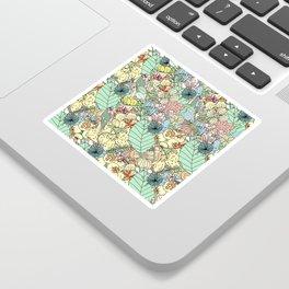Nature Bloom Pattern Sticker