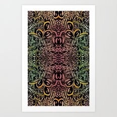 Abstract Pattern Art Print