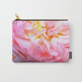 Candy Pink Rose Carry-All Pouch