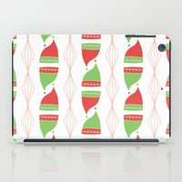 hats iPad Cases featuring Elf Hats by applesandcinnamon