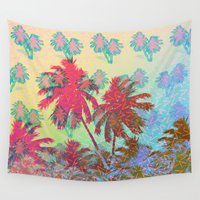 california Wall Tapestries featuring CALIFORNIA by DIVIDUS