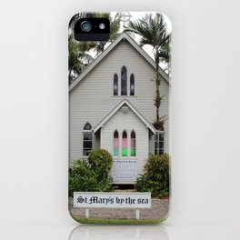St Mary's by the Sea iPhone Case