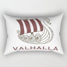 Viking Nordic Norse Mythology Valhalla Gods Gift Rectangular Pillow