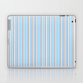 Blue Stripe Pattern Laptop & iPad Skin