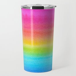 Rainbow Gradient Travel Mug
