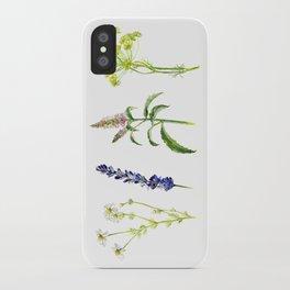 Tea Flowers iPhone Case