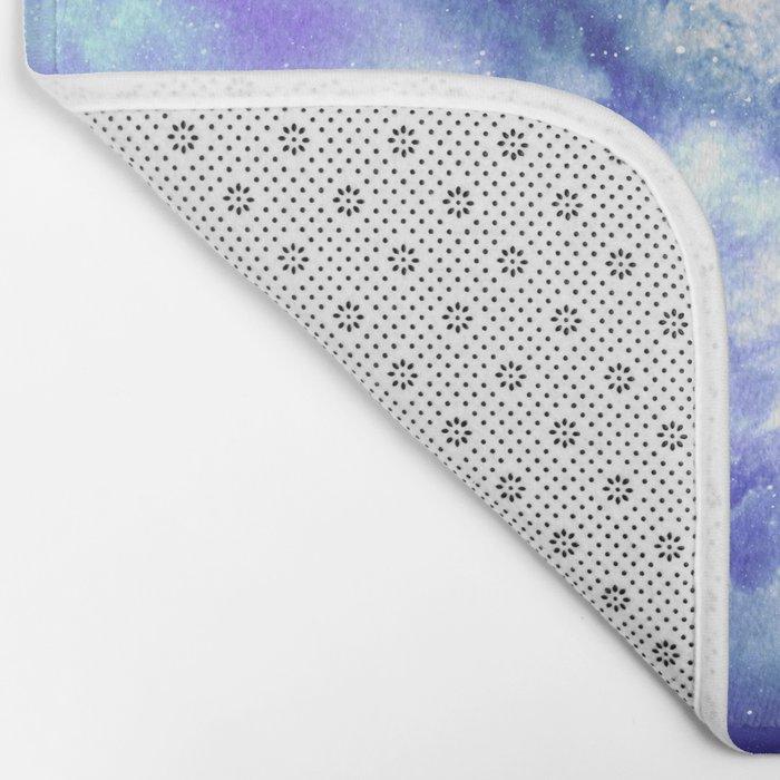 Star Detonation Bath Mat