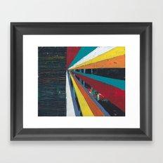 Sun Ray 1 Framed Art Print