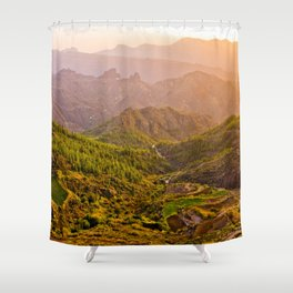 Gran Canaria 1.4 Shower Curtain