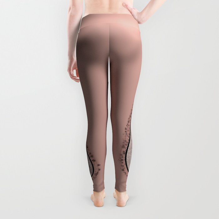 Ostriches snakes Leggings