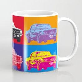 Mustang V8 1967 pop art inspired by A.W Coffee Mug