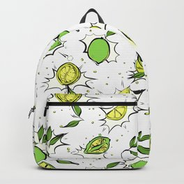 Lime Splash Backpack