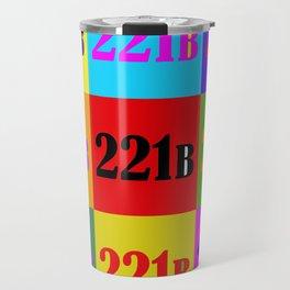 221B Color Block Travel Mug