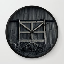Storage door Wall Clock