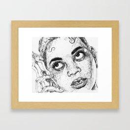 Seashell Coker Framed Art Print