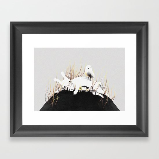 Discovery Channel Framed Art Print