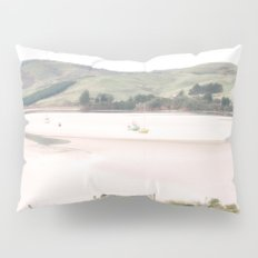 Boats on the water (color) Pillow Sham