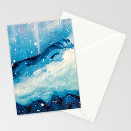Nordic Mountain Stationery Cards