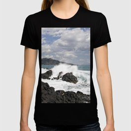 The Power of Sea on the Isle of Sicily T-shirt