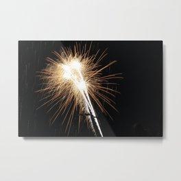 MV Fireworks: Diamonds Metal Print