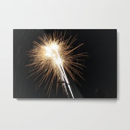 MV Fireworks: Diamonds Metal Print