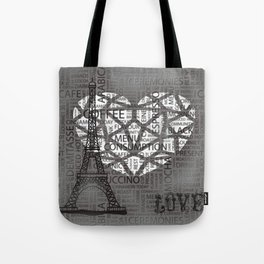 Love A Cuppa Coffee In Paris? Tote Bag
