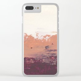 Desert Torte Clear iPhone Case