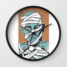 Mummy Wall Clock