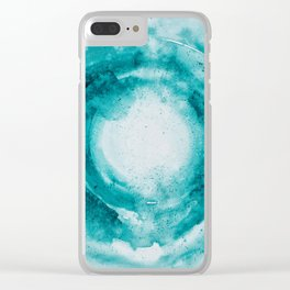 Spirit Of Water Clear iPhone Case
