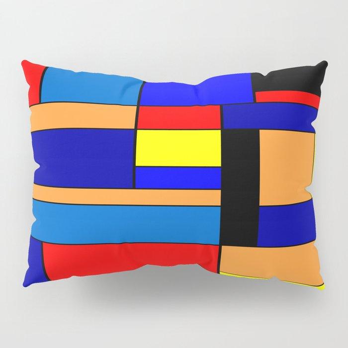 Mondrian #2 Pillow Sham