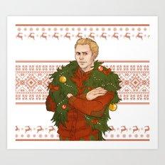 Very Merry Cullen Art Print
