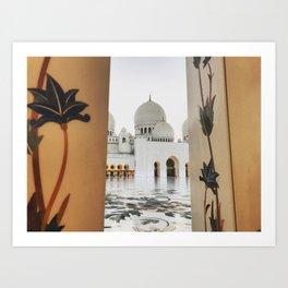 Grand Mosque Art Print