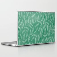 banana leaf Laptop & iPad Skins featuring Banana Leaf by Make-Ready