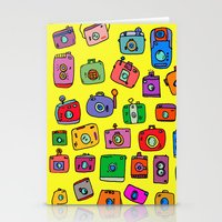 cameras Stationery Cards featuring Cameras by andy_panda_