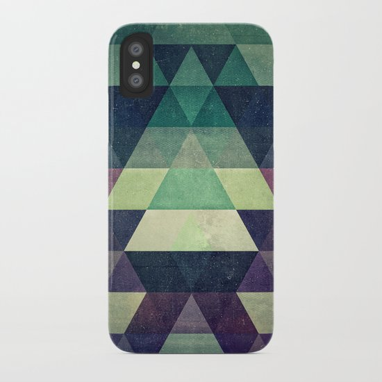 dysty_symmytry iPhone Case