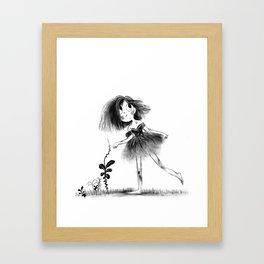 Gutter Girl Framed Art Print