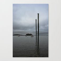 Lubec in the morning Canvas Print