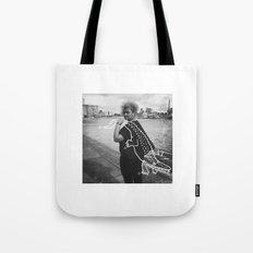 The Urban Crocodile Huntress Tote Bag