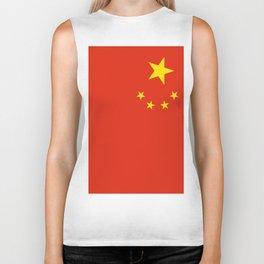 Flag of China Biker Tank