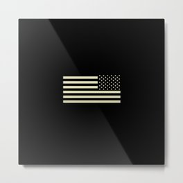 Tactical Flag Metal Print