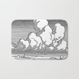 Cumulus Congestus Cloud Bath Mat